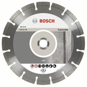 Круг алмазный Bosch Standard for Concrete 230 x 22,23 x 2,3 x 10 mm