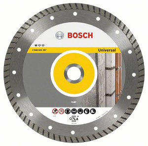 Круг алмазный Bosch Standard for Universal Turbo 230 x 22,23 x 2,5 x 10 mm