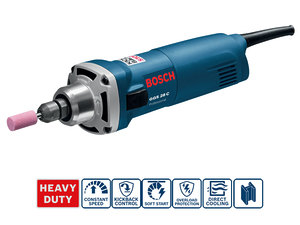 Прямая шлифмашина Bosch GGS 28 C (0601220000)