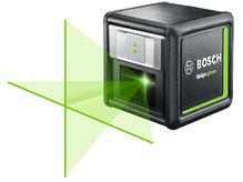 Линейный лазерный уровень Bosch Quigo green + MM2 (0603663C00)