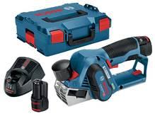 Аккумуляторный рубанок Bosch GHO 12V-20 L-boxx (06015A7001)