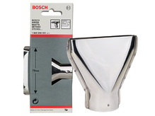 Плоская насадка, Bosch 75 мм(1609390451)
