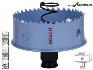Коронка биметаллическая Bosch Sheet Metal, 73 мм (2608584805)